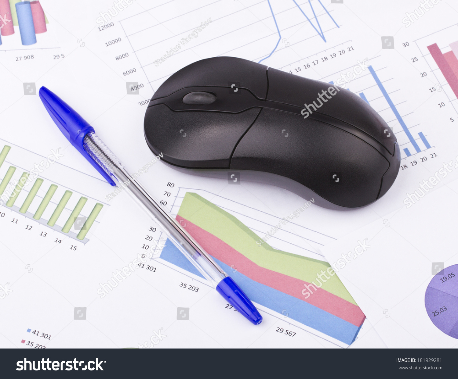 Pleasing Business Stilllife Pen Diagram Computer Mouse Stock Photo Edit Now Wiring 101 Ferenstreekradiomeanderfmnl