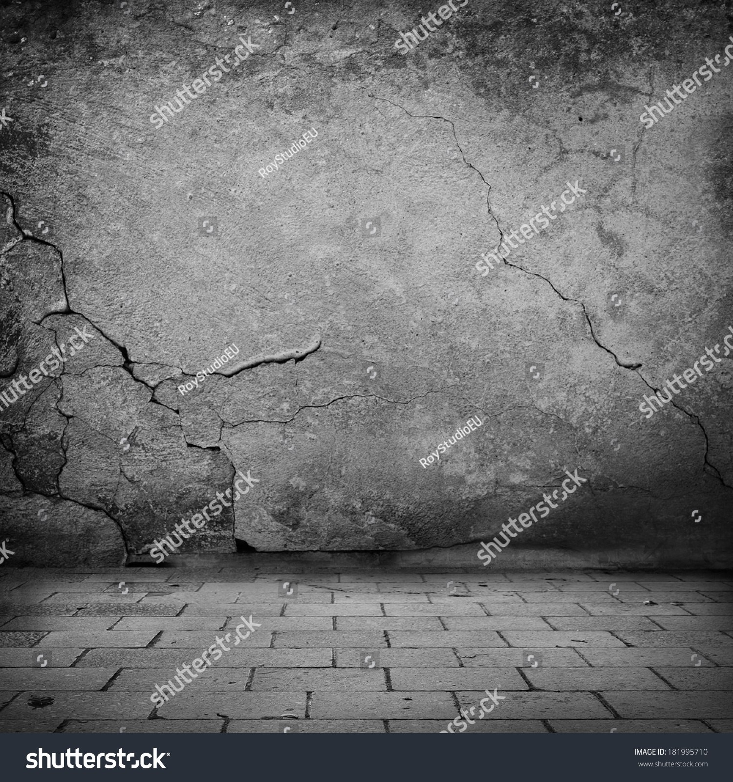 Sad Tumblr Quotes About Love: Black White Grunge Background Old Stone Stock Photo