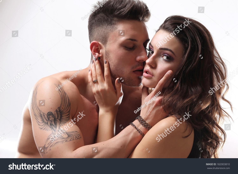 Happy sexual intercourse, ice cube vibrator