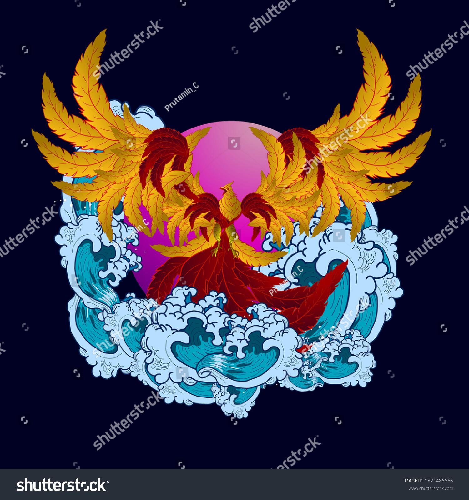 stock-vector-red-bird-illustration-desig
