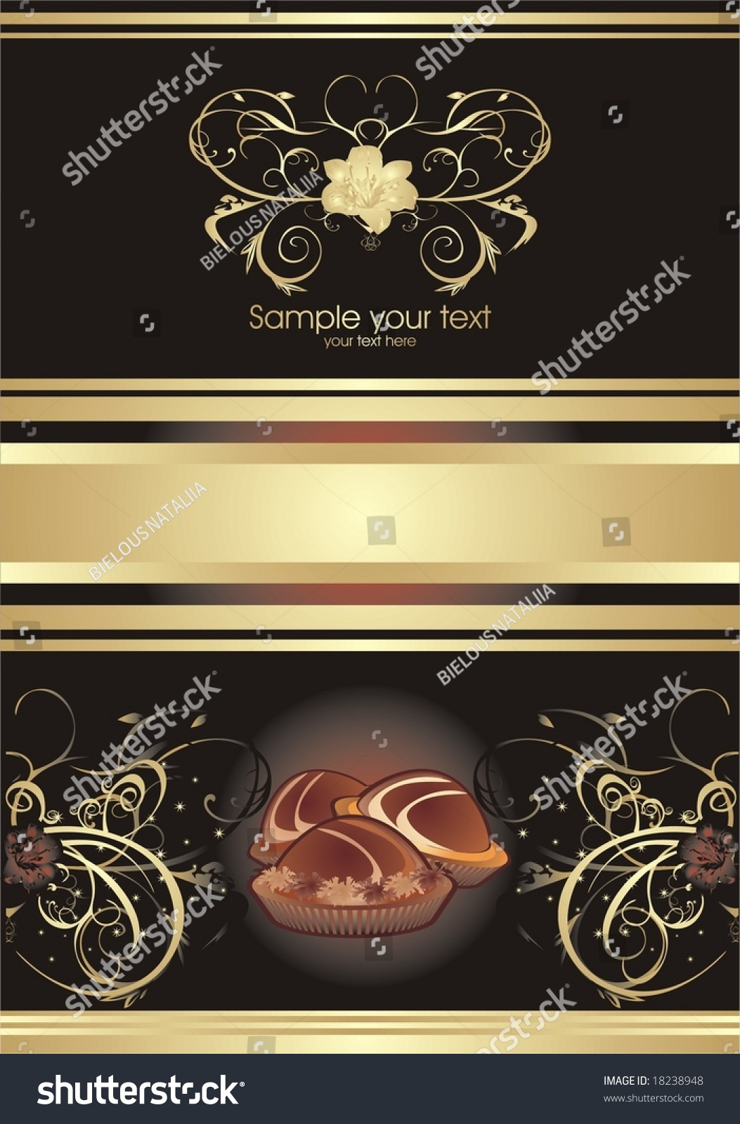 Abstract Background Wrapping Chocolate Candies Assortment Stock ...