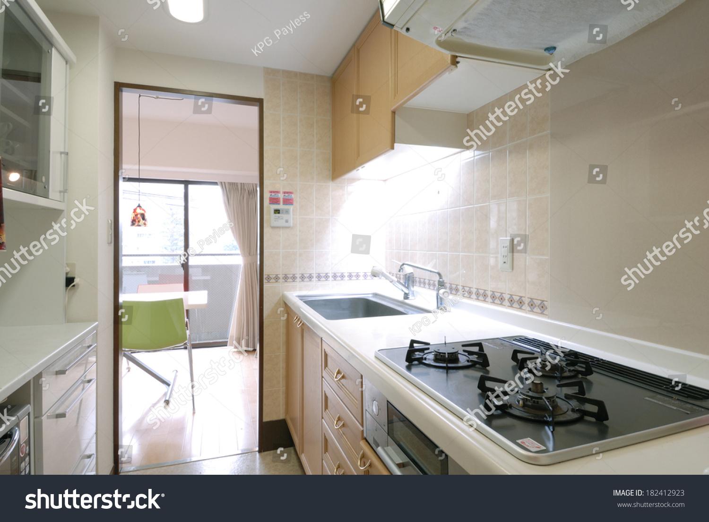 Kitchen Japanese House Stock Photo Edit Now 182412923 Shutterstock