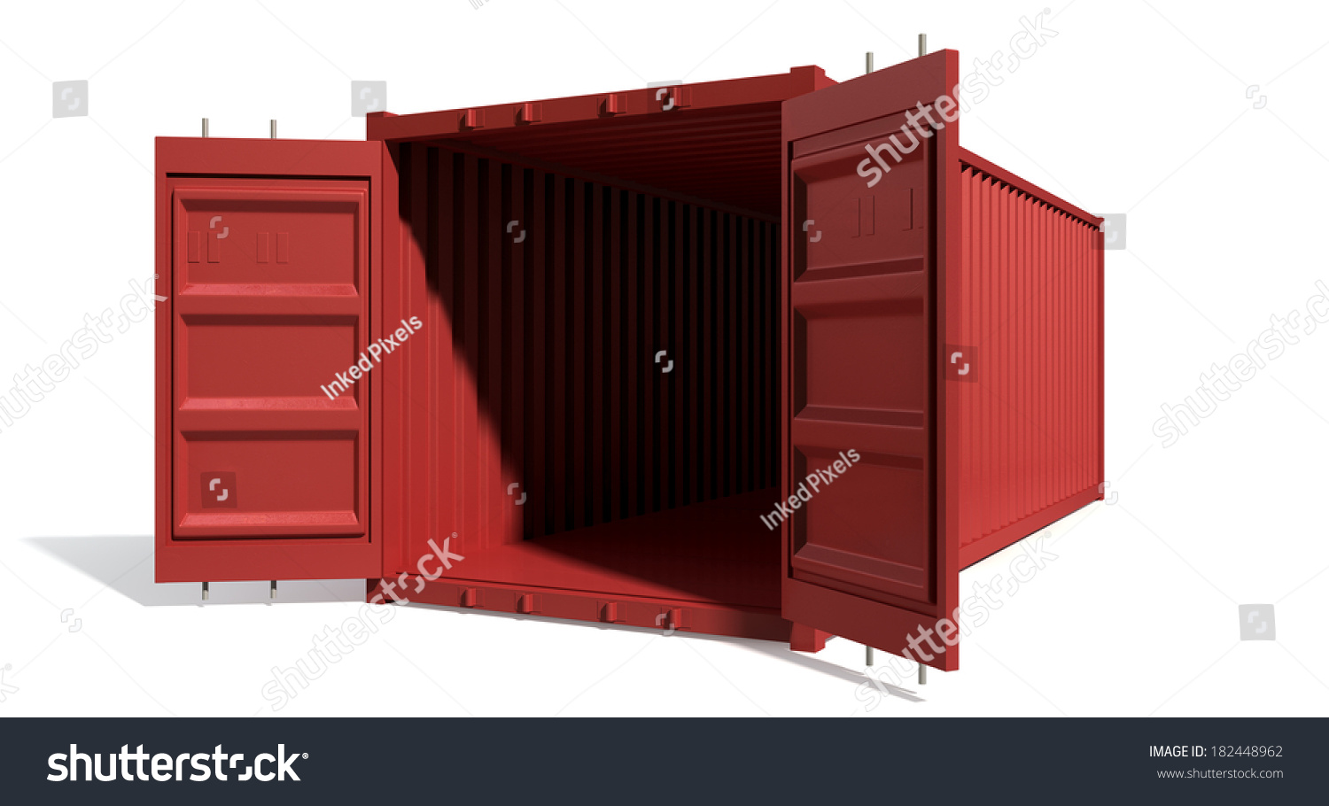 how to clean the inside of a shipping container