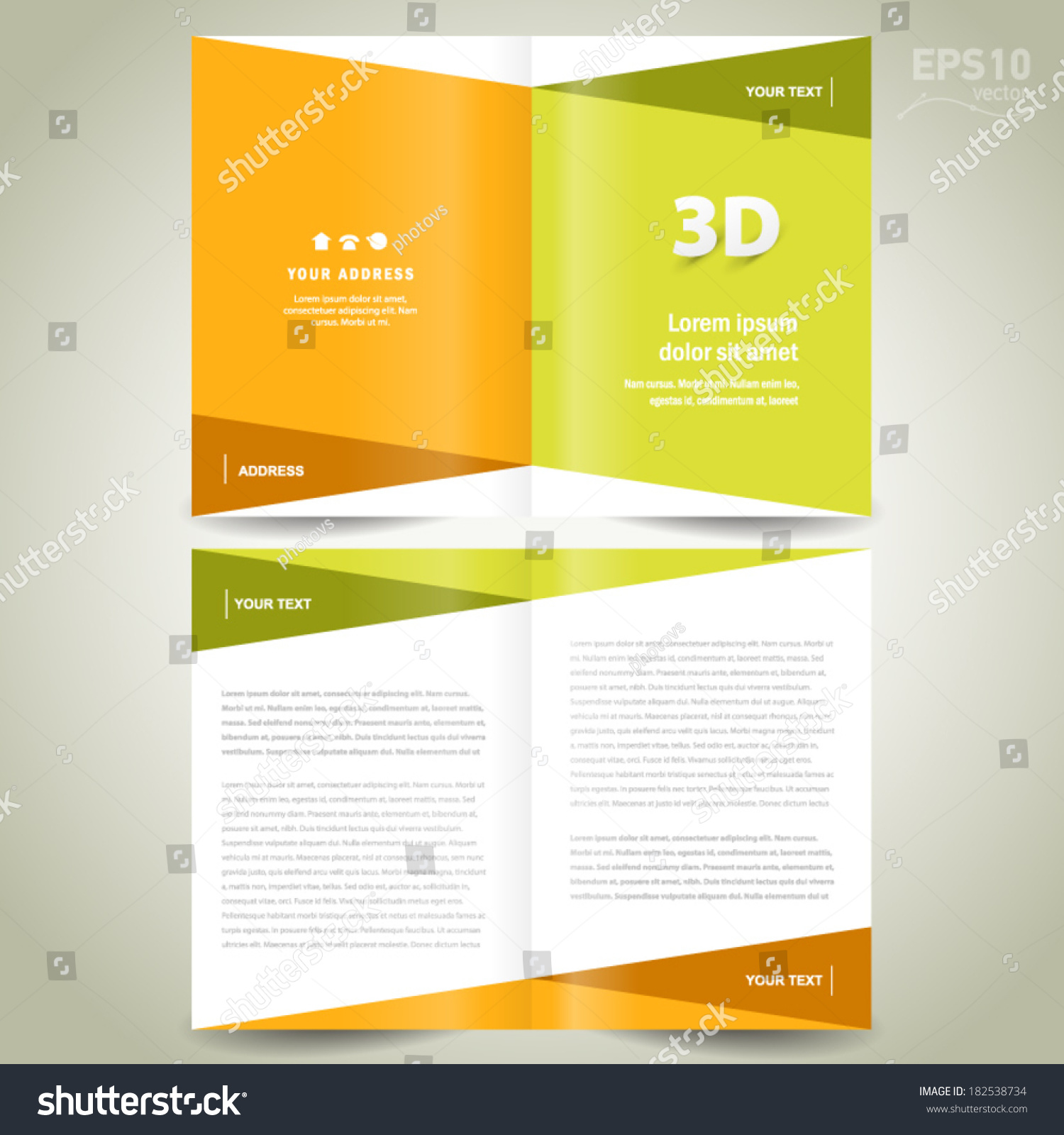 White Booklet Template Royalty Free Images Image 167189 – Free Booklet Template