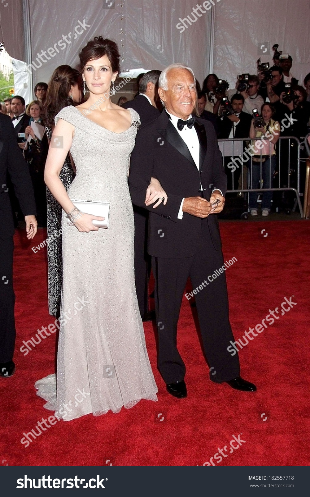 Julia Roberts Armani Prive Gown Giorgio Stock Photo (100% Legal ...