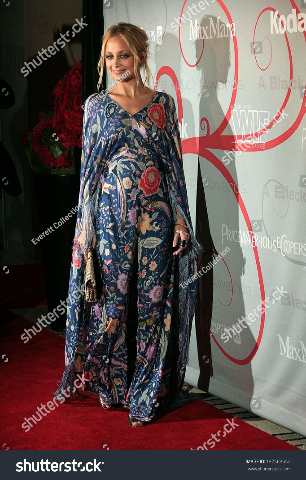 Nicole Richie In Vintage Missoni Dress At The Women In Film 2008 ...
