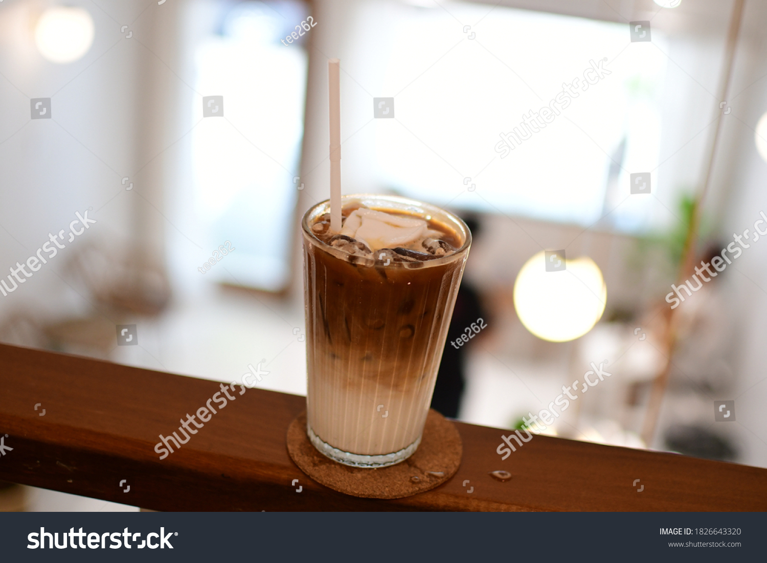 Iced Coffee Cafe Iced Coffee Thailand Miscellaneous Stock Image 1826643320