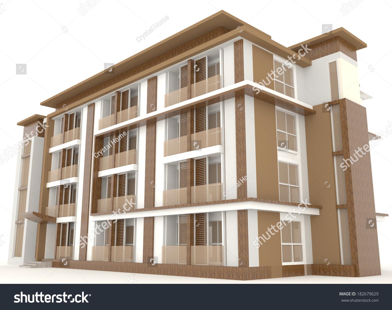exterior office. Side Wooden Office Building Condo Exterior Stock Illustration 182679629 - Shutterstock V