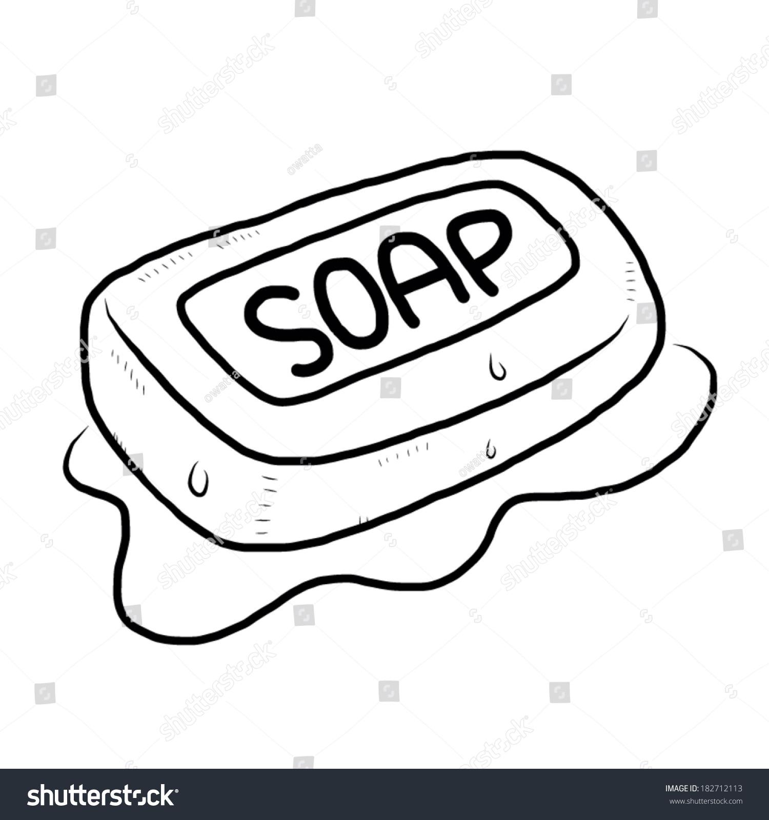 Soap Stock Vector 182712113 Shutterstock