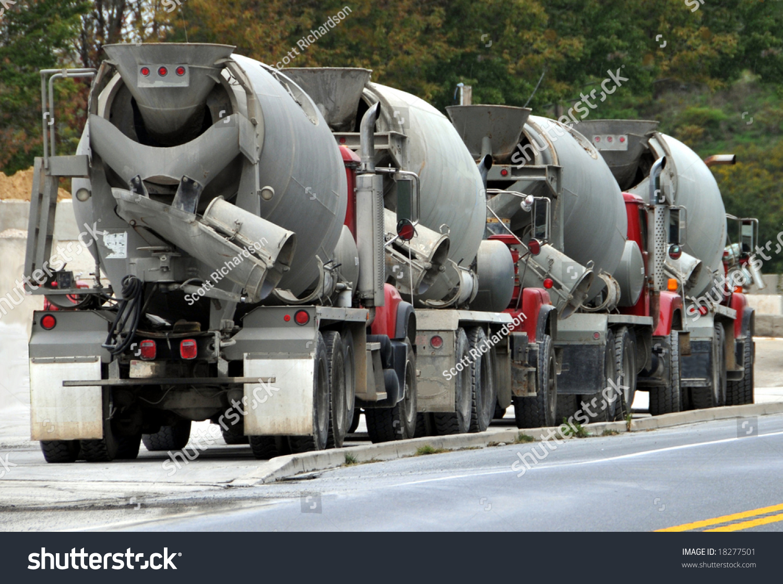 cement truck stock photo 18277501 shutterstock