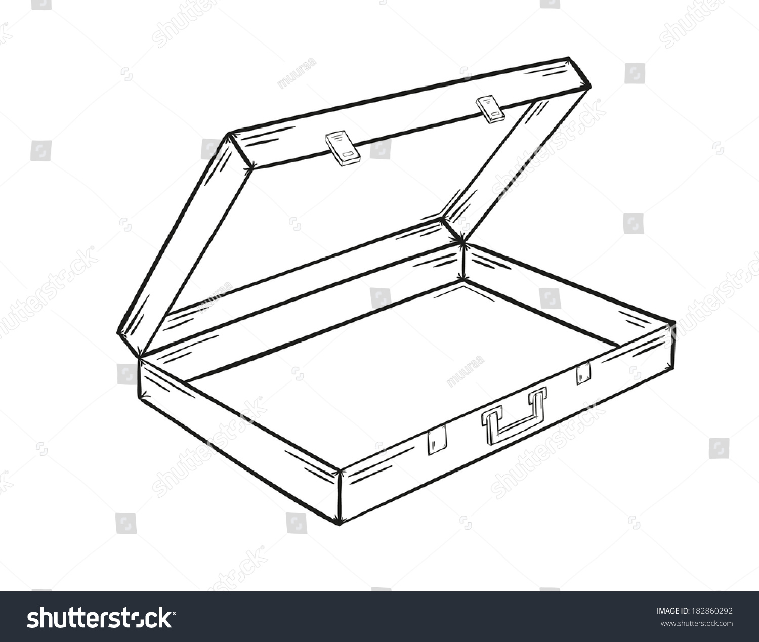 Sketch open empty suitcase on white stock vector 182860292 sketch open empty suitcase on white stock vector 182860292 shutterstock pronofoot35fo Images