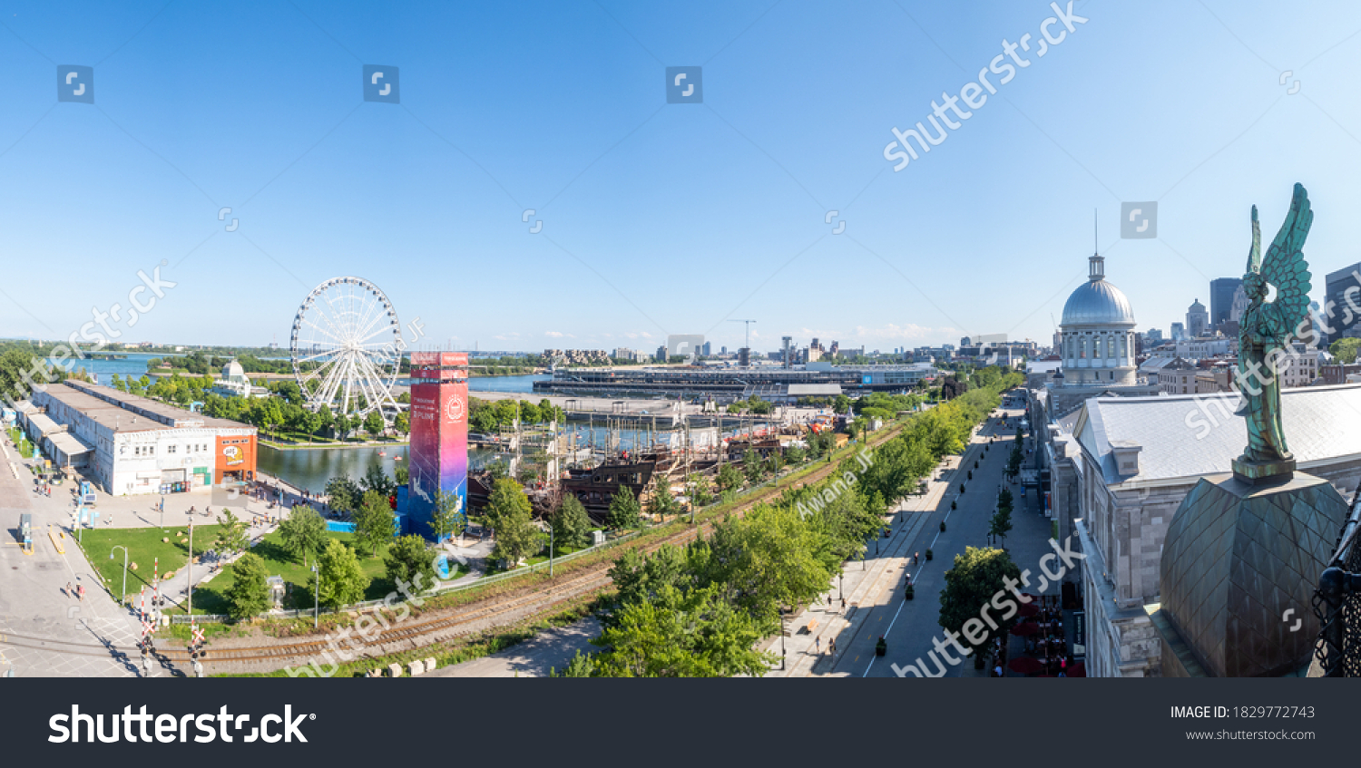 stock-photo-montreal-canada-august-panor