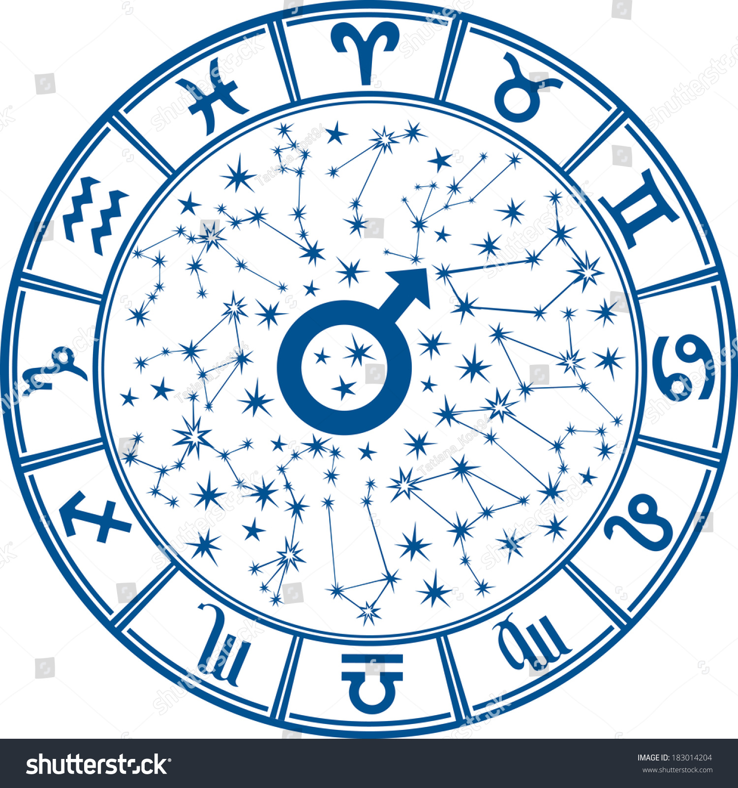 -horoscope-circle-with-zodiac-signs-and-constellations-of-the-zodiac ...