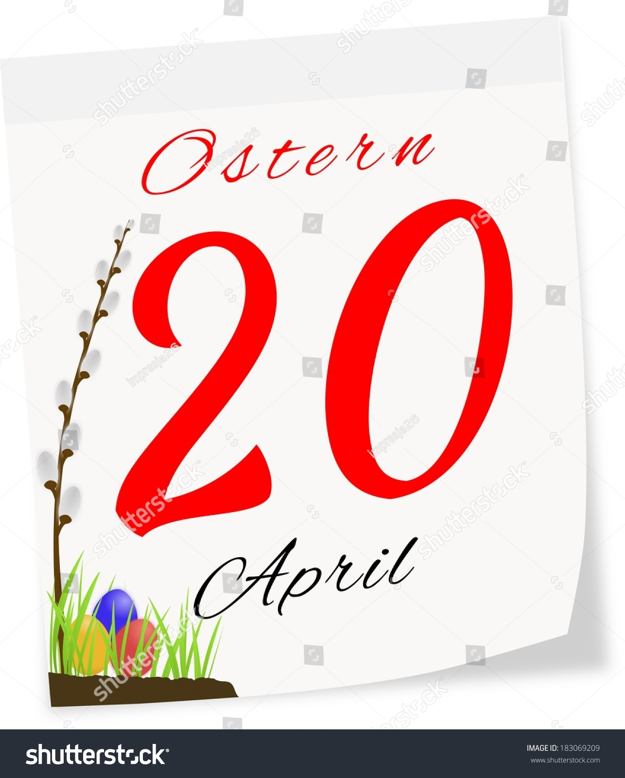Date of easter 2014