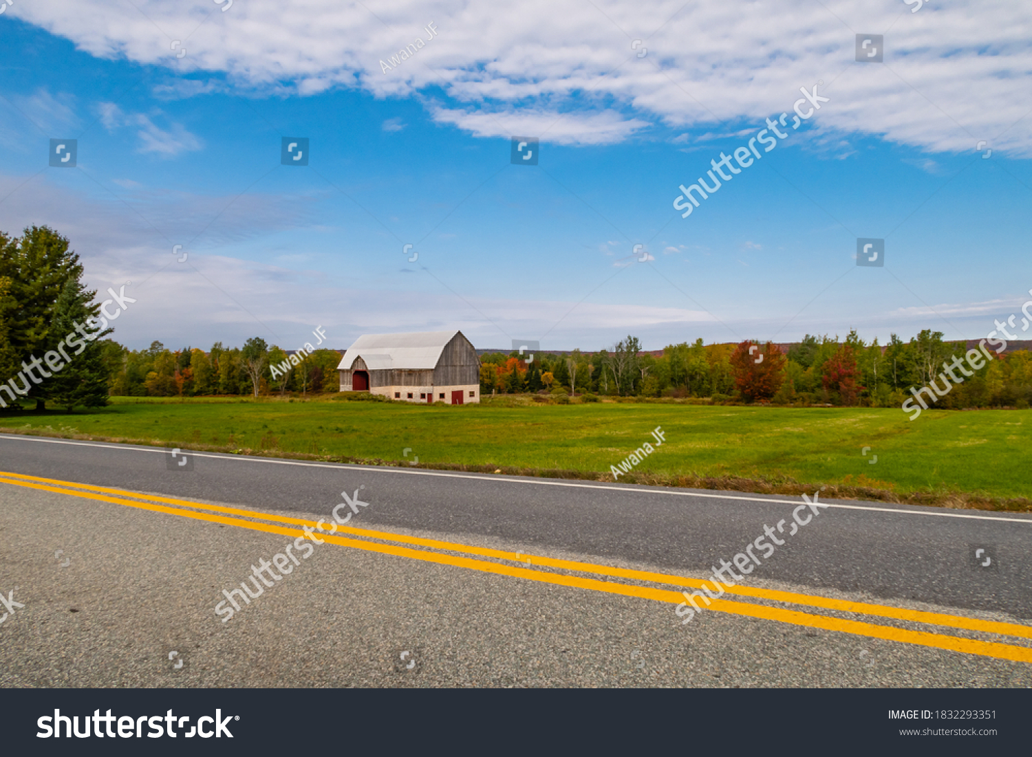 stock-photo-mont-orford-canada-september