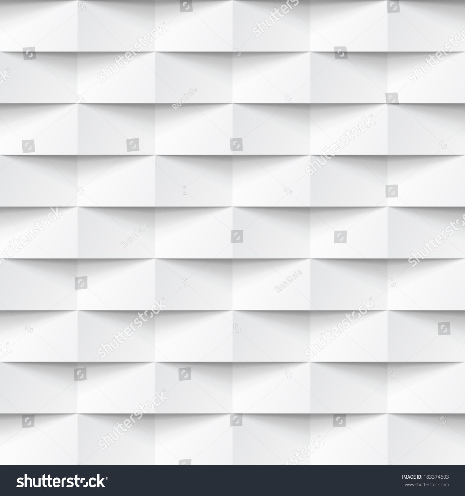 Abstract 3d White Geometric Background White Stock Vector ...