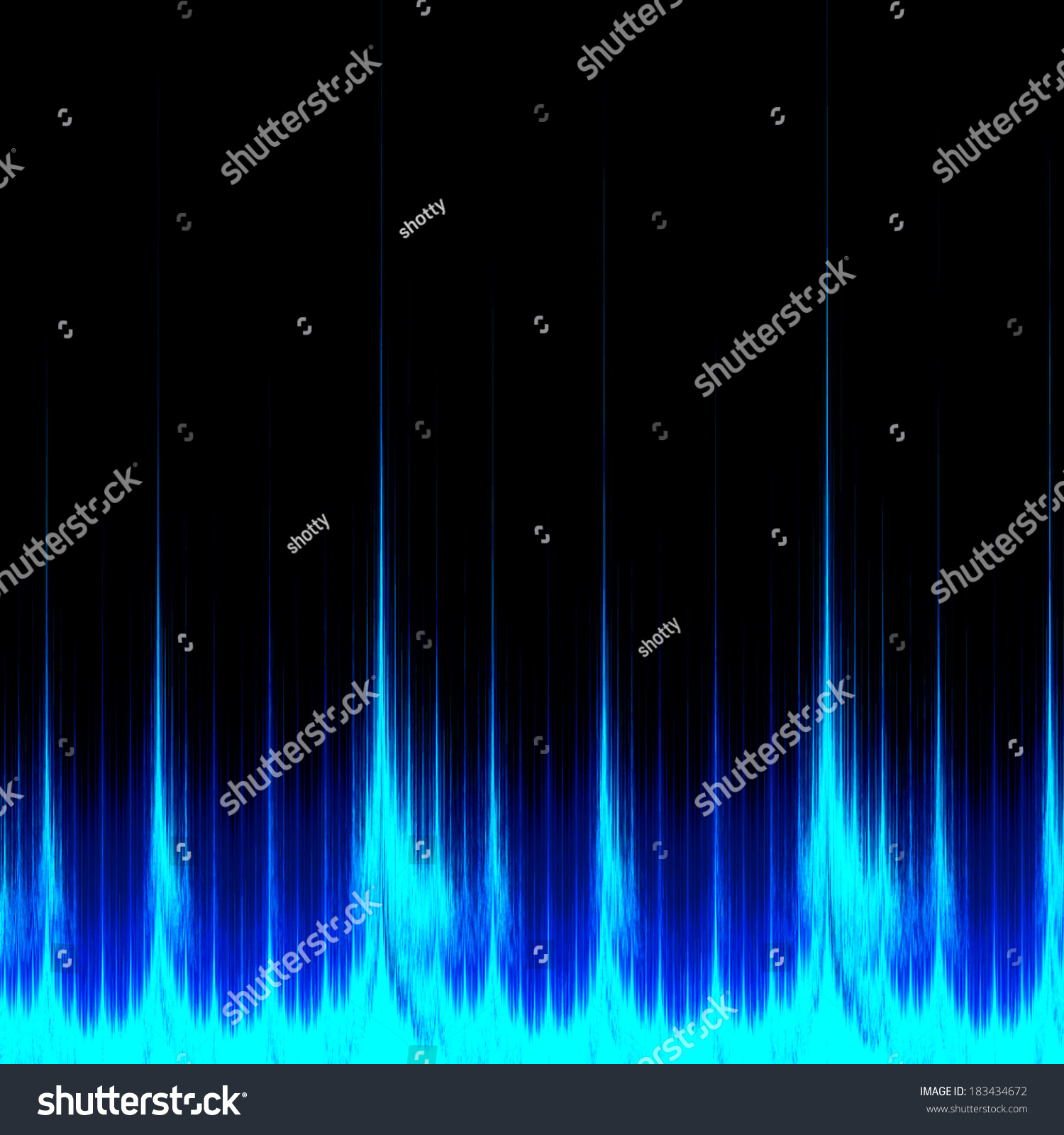 Royalty Free Stock Illustration of Abstract Visualization Digital