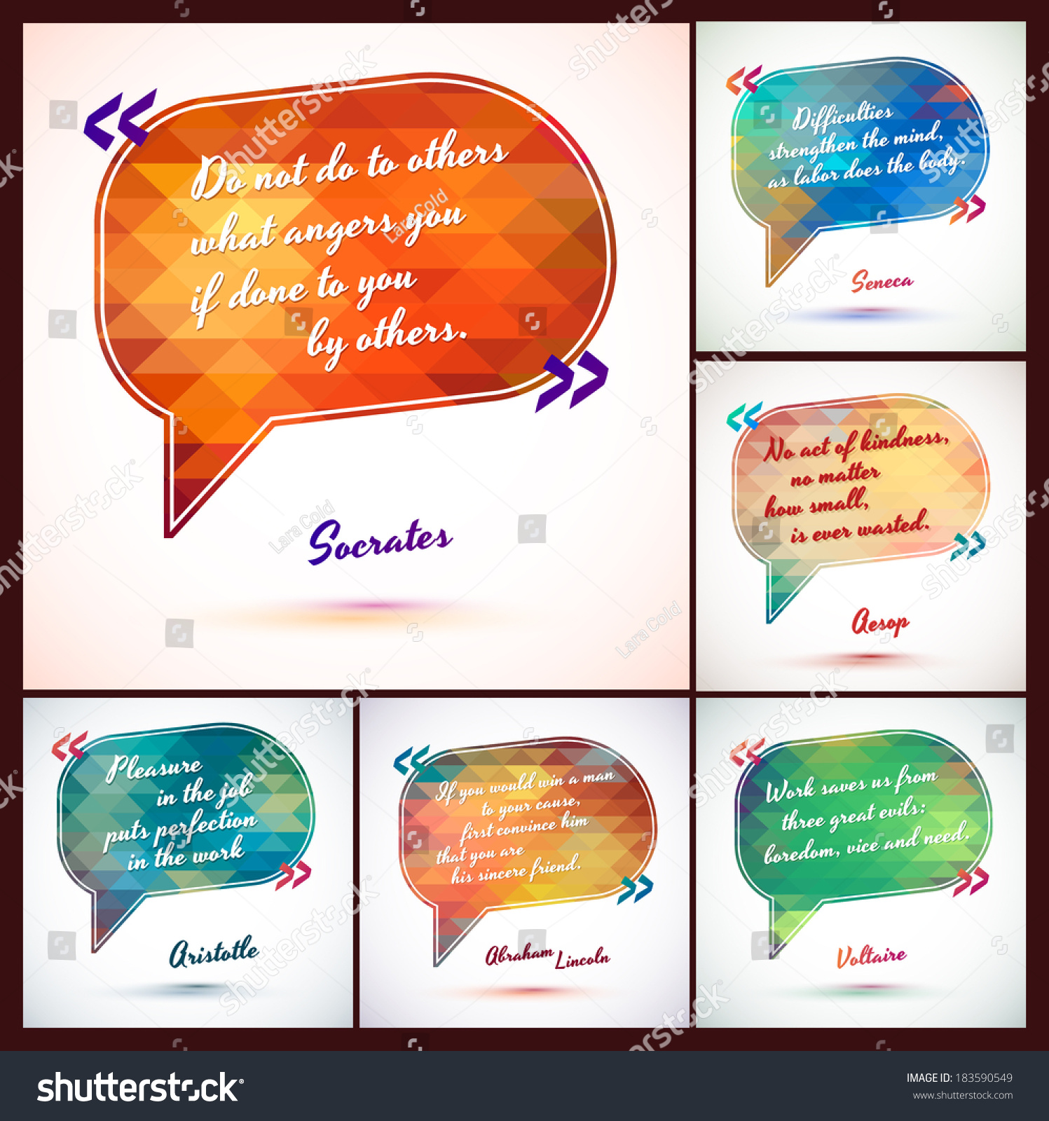 typographical background illustration clever idea from