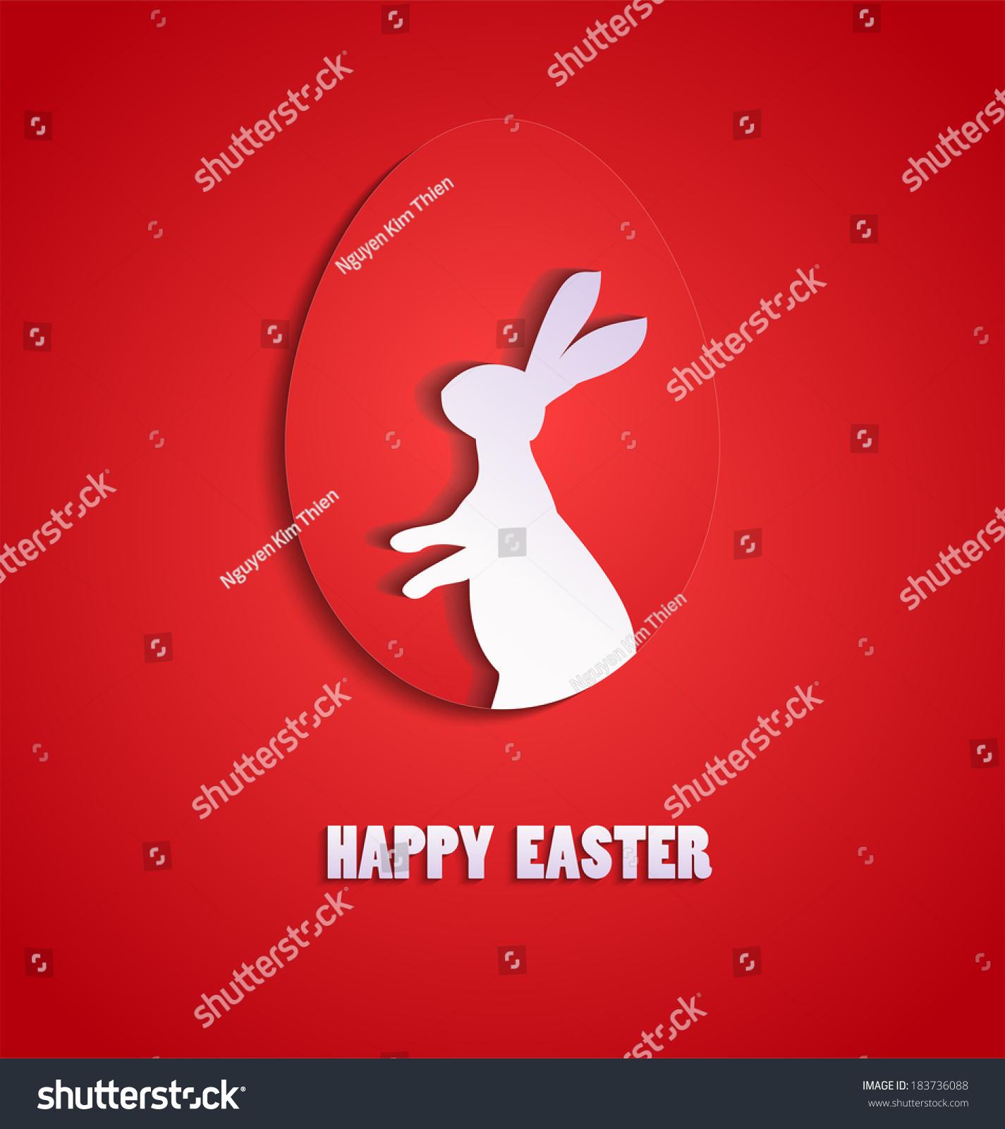 Happy Easter Stock Vector 183736088 - Shutterstock