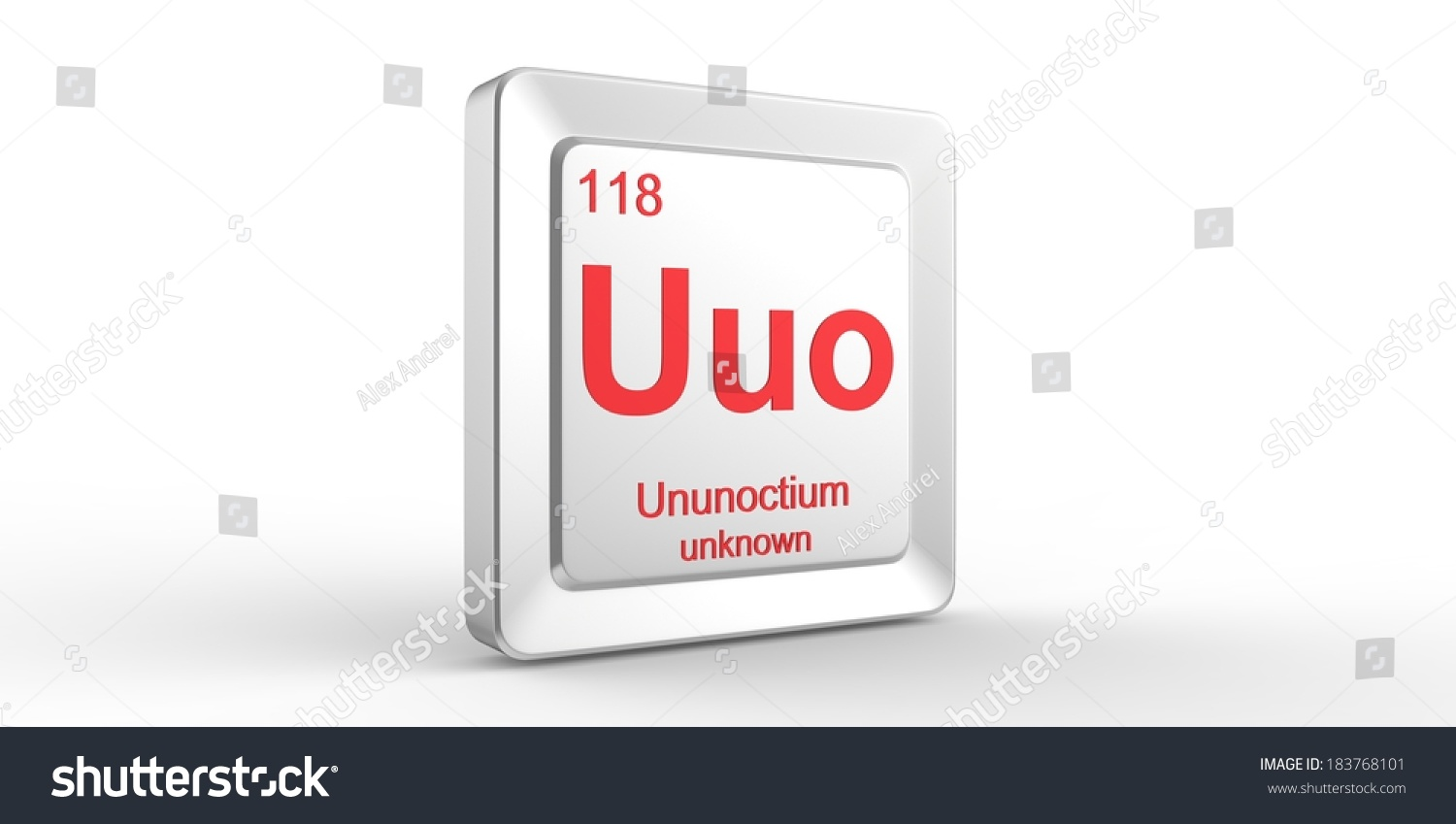 Uuo symbol 118 material ununoctium chemical stock illustration uuo symbol 118 material for ununoctium chemical element of the periodic table urtaz Choice Image