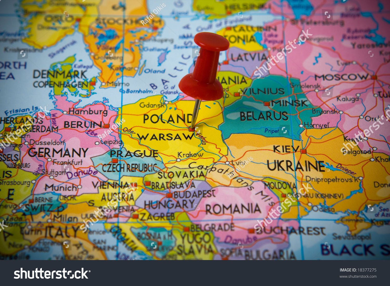 Warsaw Poland Map | Park Map
