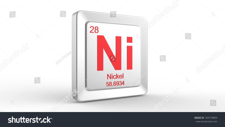 Ni symbol 28 material nickel chemical stock illustration 183773894 ni symbol 28 material for nickel chemical element of the periodic table buycottarizona Images