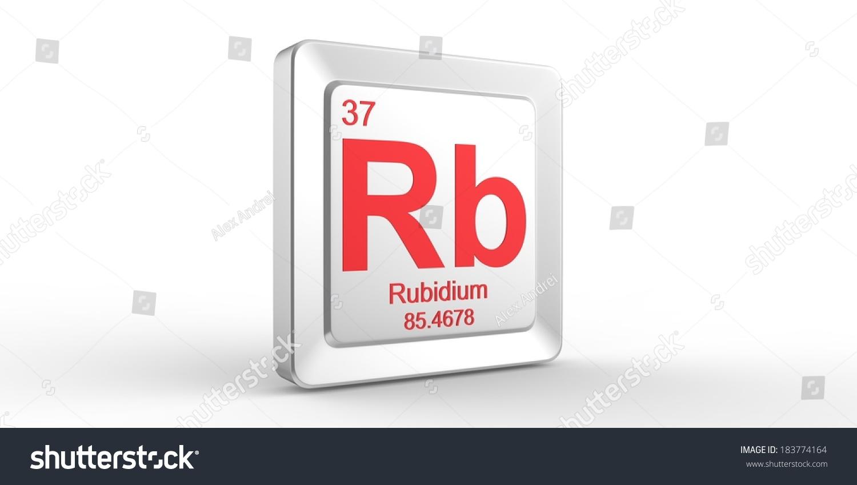 Rb symbol 37 material rubidium chemical stock illustration 183774164 rb symbol 37 material for rubidium chemical element of the periodic table buycottarizona Choice Image