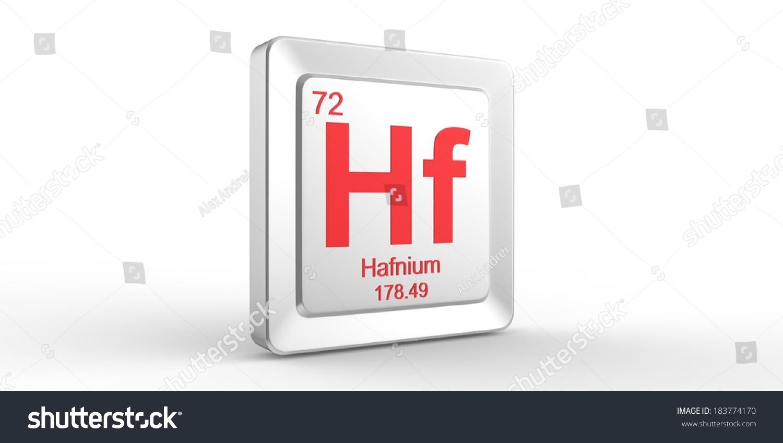 Hf symbol 72 material hafnium chemical stock illustration hf symbol 72 material for hafnium chemical element of the periodic table gamestrikefo Images