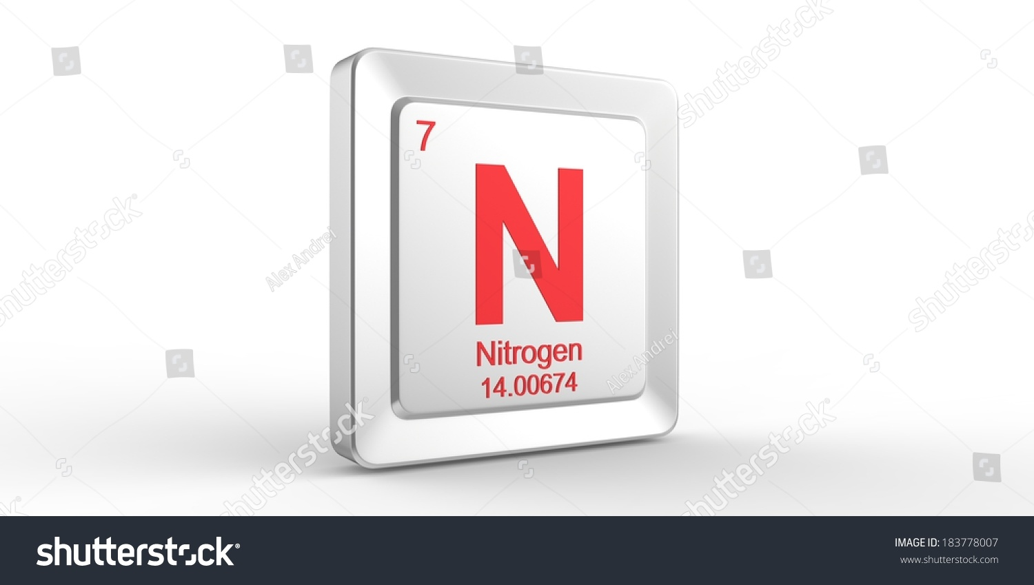 Ar Symbol 18 Material For Argon Chemical Element Of The Periodic