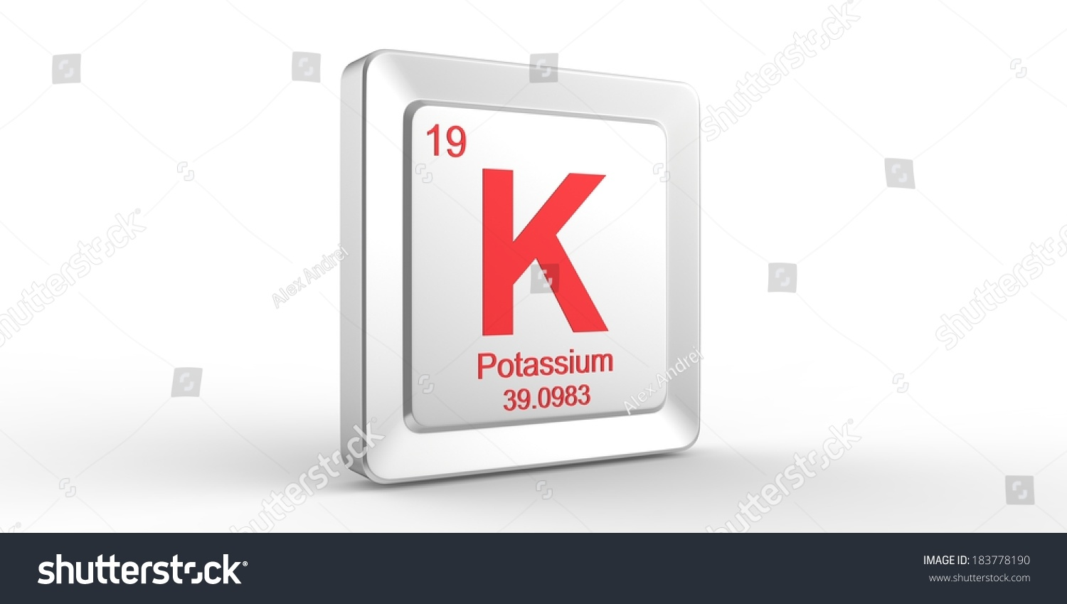 K symbol 19 material potassium chemical stock illustration k symbol 19 material for potassium chemical element of the periodic table gamestrikefo Choice Image