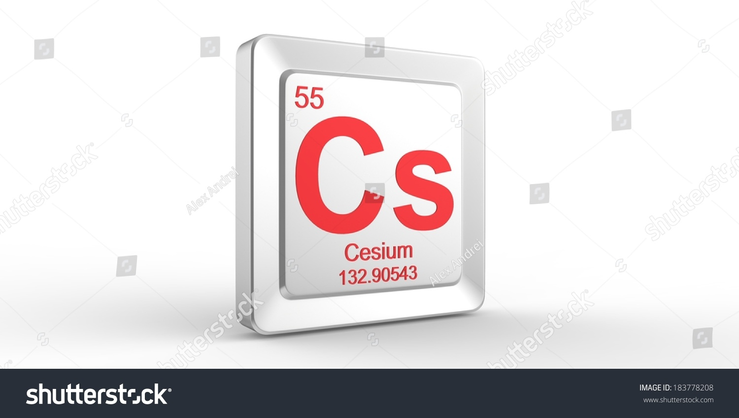 Cs symbol 55 material cesium chemical stock illustration 183778208 cs symbol 55 material for cesium chemical element of the periodic table gamestrikefo Image collections