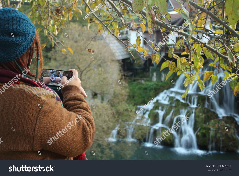 stock-photo-slunj-croatia-woman-photogra
