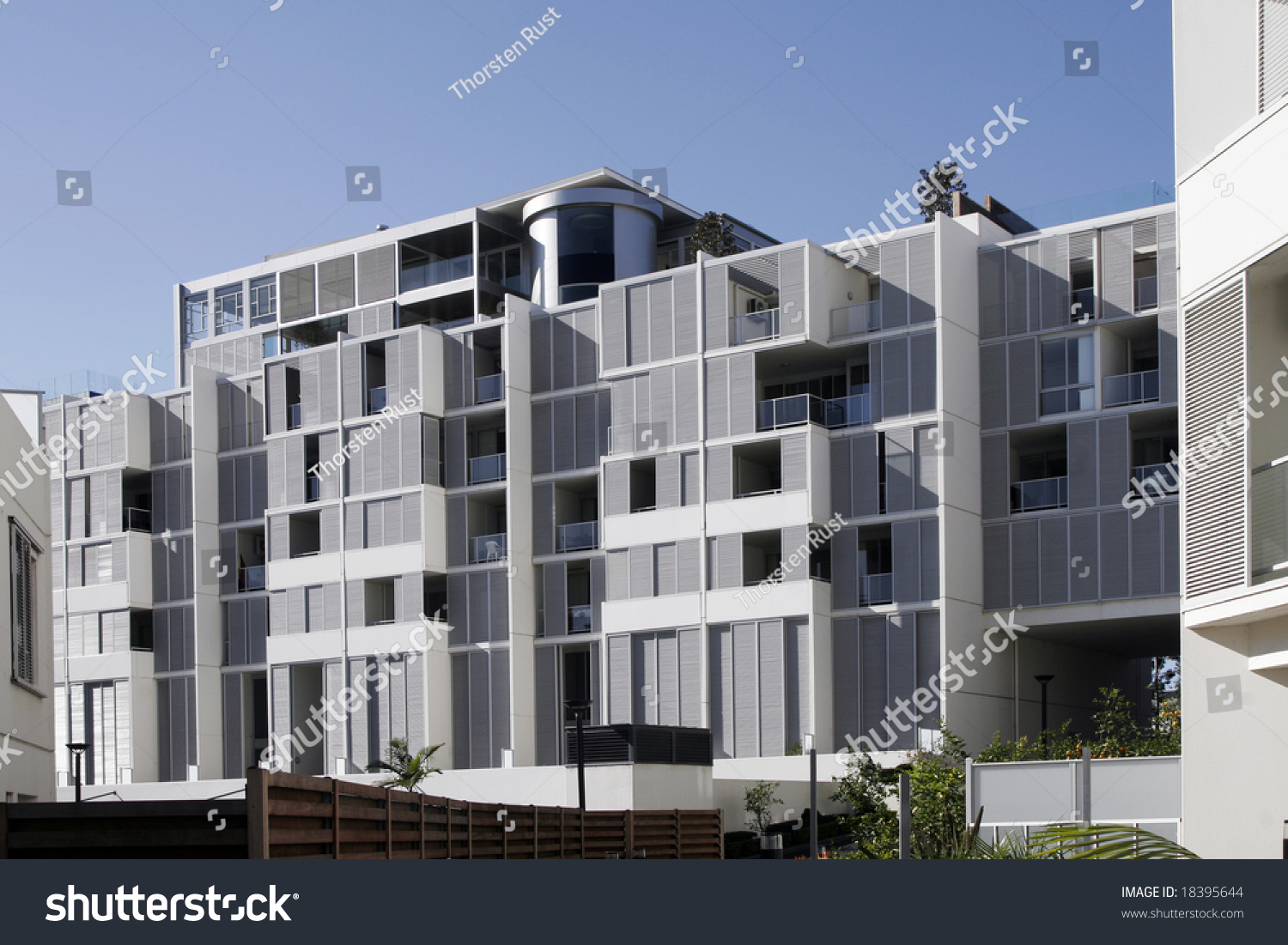 Modern Urban Apartment Building In Sydney Australia Stock Photo 18395644 S