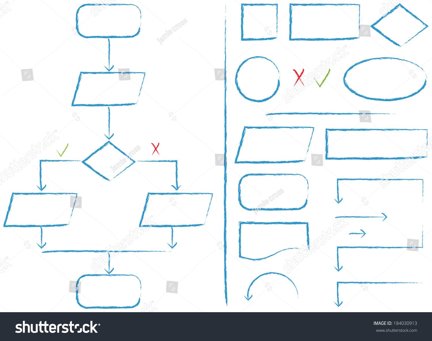 Complete flow chart flow chart elements stock illustration complete flow chart flow chart elements stock illustration 184030913 shutterstock nvjuhfo Gallery