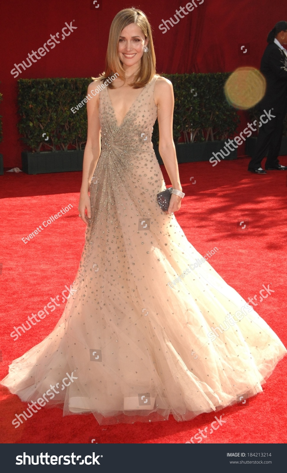 Rose Byrne Wearing Valentino Gown 61st Stock Photo (Edit Now ...