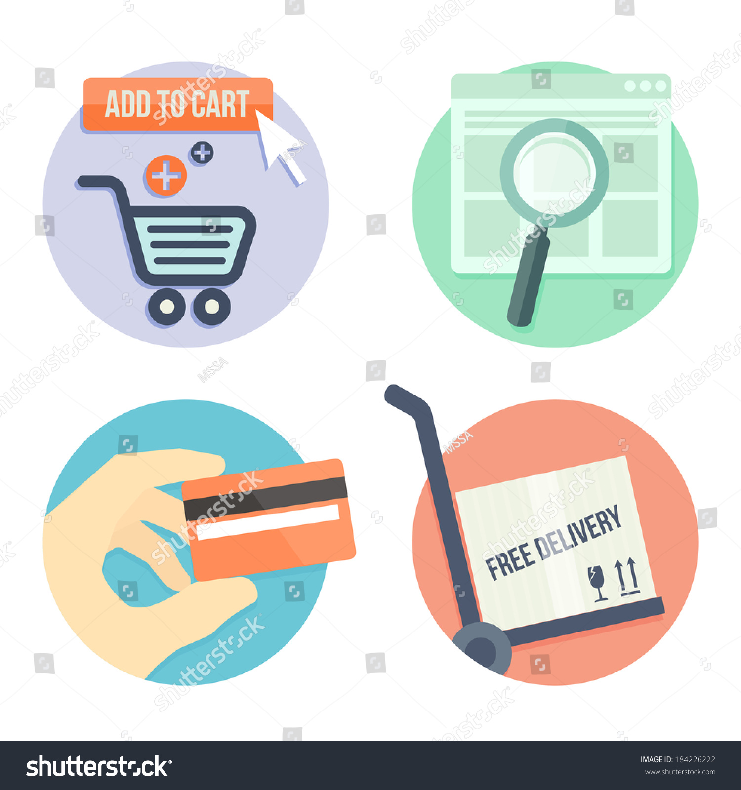 Payment methods for online shopping