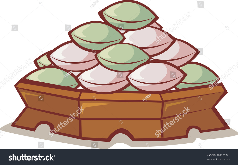 Rice Cake Clip Art : Plate Of Songpyon, A Korean Rice Cake Stock Photo ...
