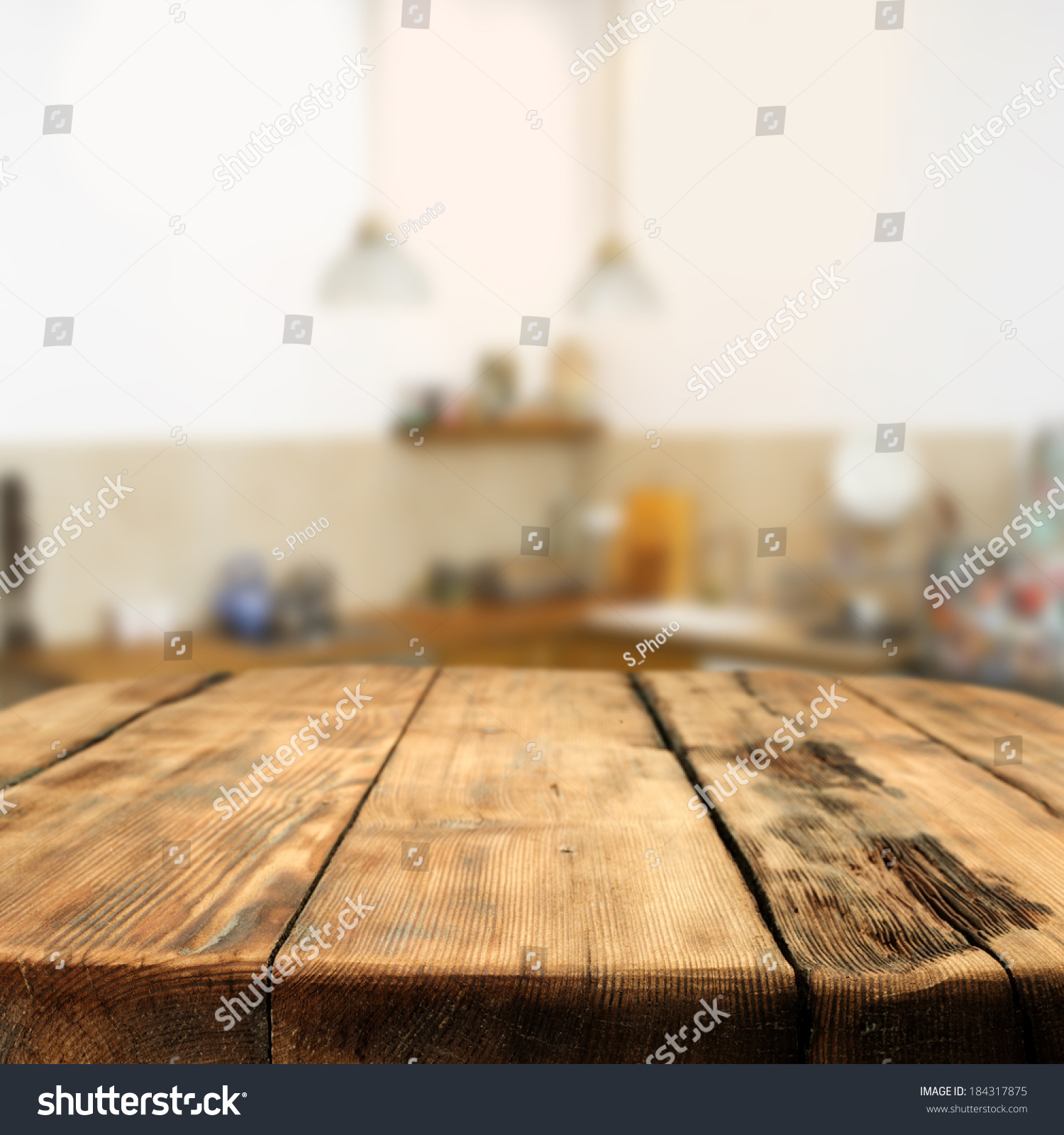 Kitchen Space Table Kitchen Space Stock Photo 184317875 Shutterstock