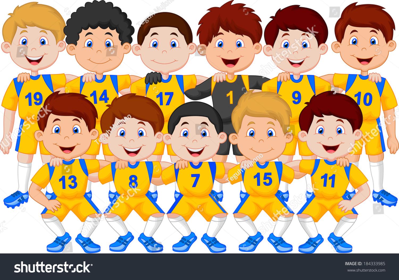 soccer team cartoon wwwpixsharkcom images galleries