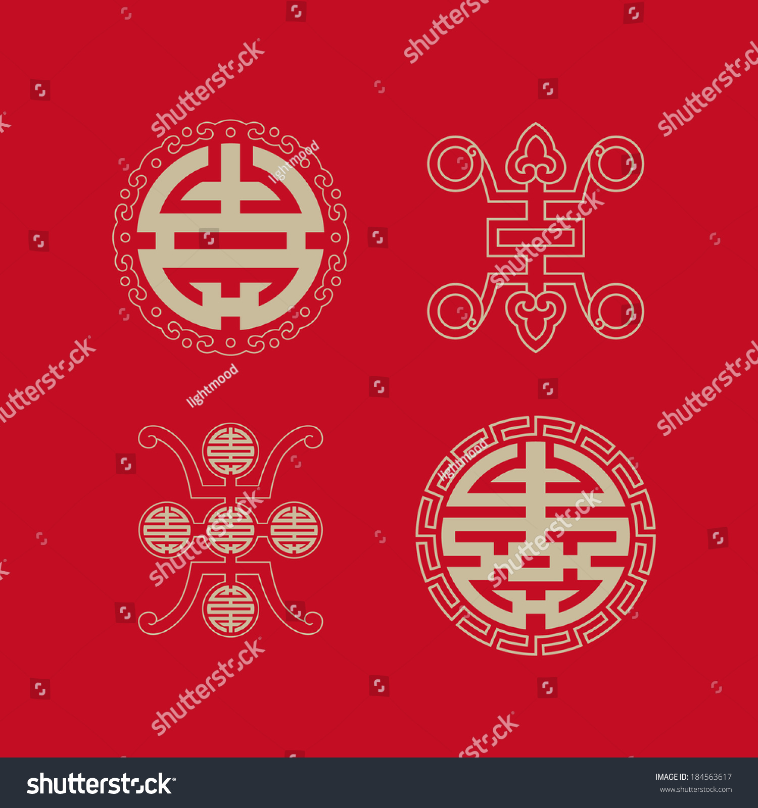 Royalty Free Longevity Symbols Collectionsymbols Of 184563617