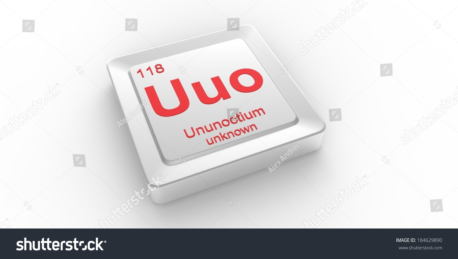 Uuo symbol 118 material ununoctium chemical stock illustration uuo symbol 118 material for ununoctium chemical element of the periodic table urtaz