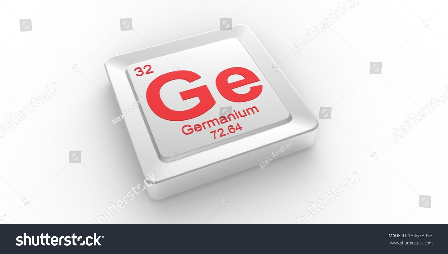 Ge symbol 32 material germanium chemical stock illustration ge symbol 32 material for germanium chemical element of the periodic table biocorpaavc Gallery