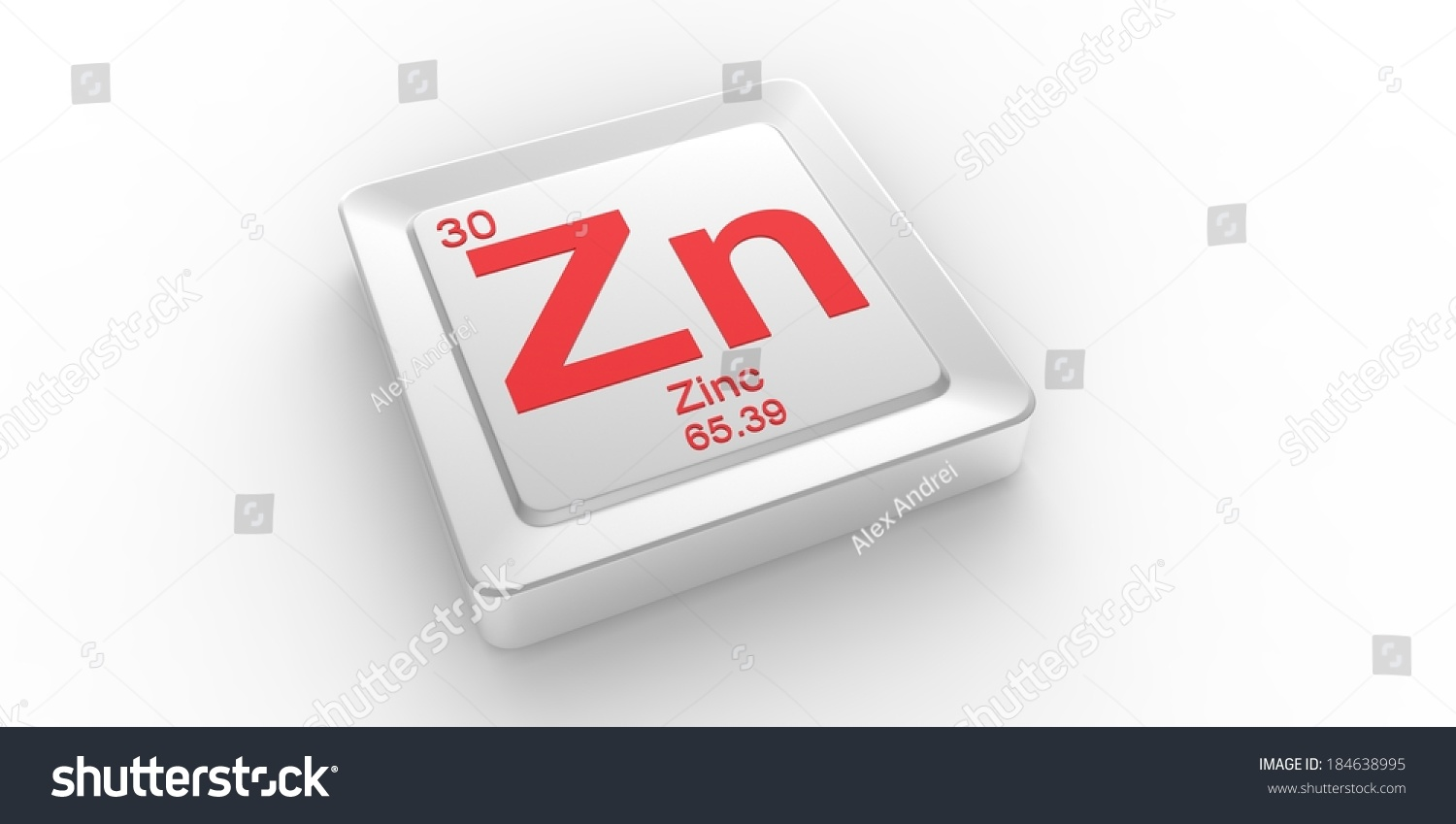 Zn symbol 30 material zinc chemical stock illustration 184638995 zn symbol 30 material for zinc chemical element of the periodic table buycottarizona Gallery