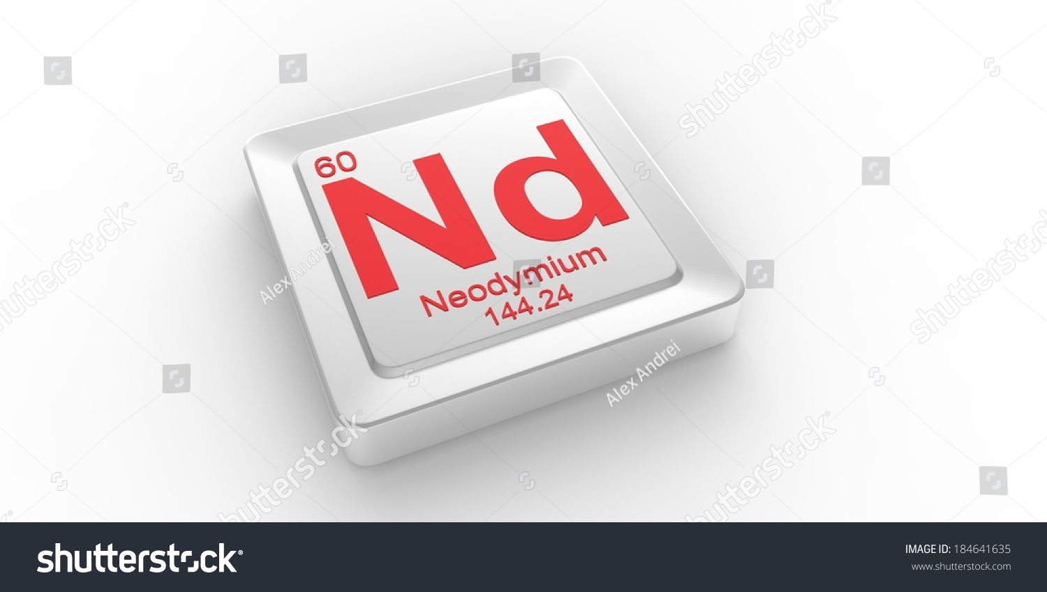 Nd symbol 60 material neodymium chemical stock illustration nd symbol 60 material for neodymium chemical element of the periodic table gamestrikefo Choice Image