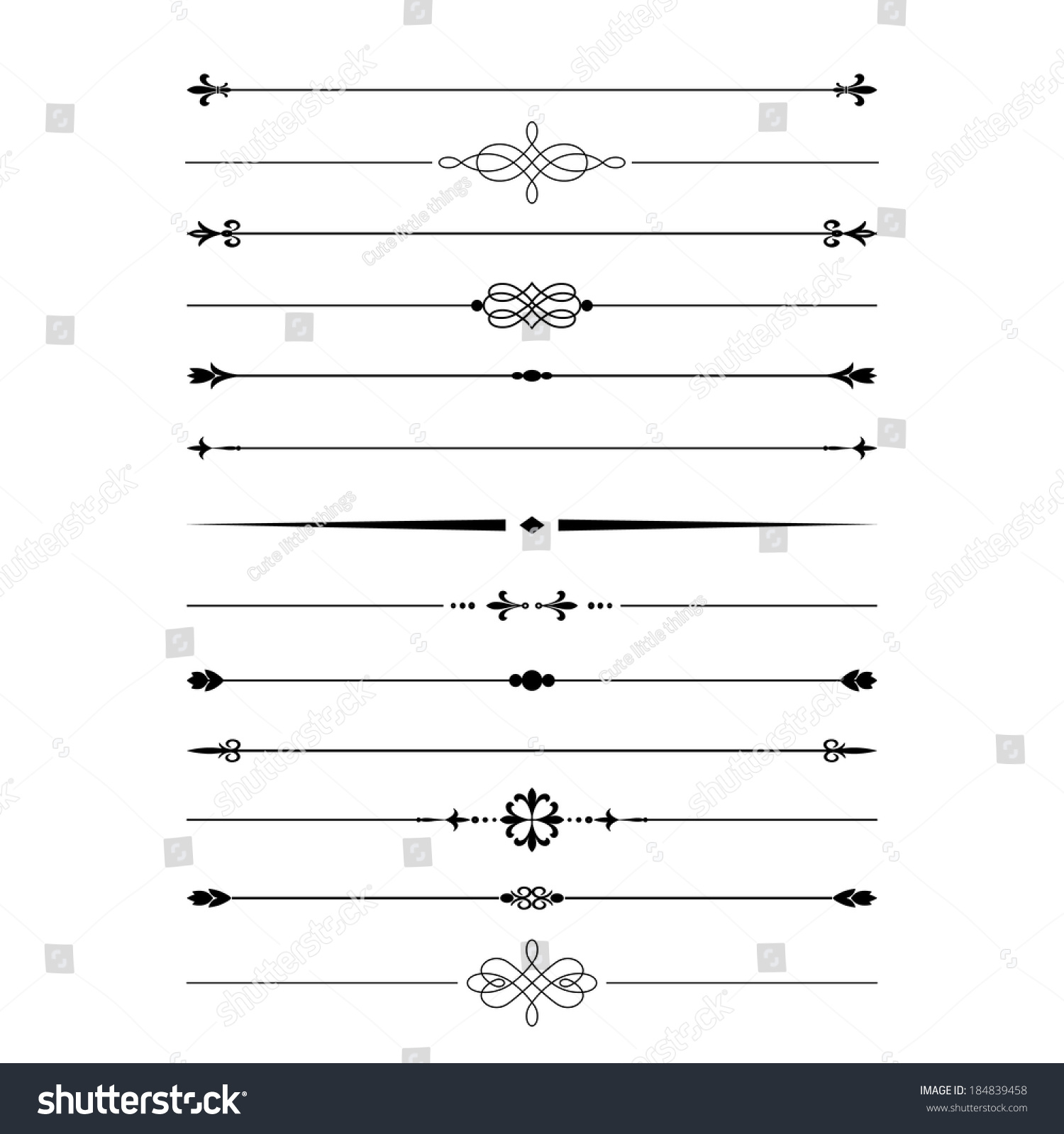 divider set vector - photo #7