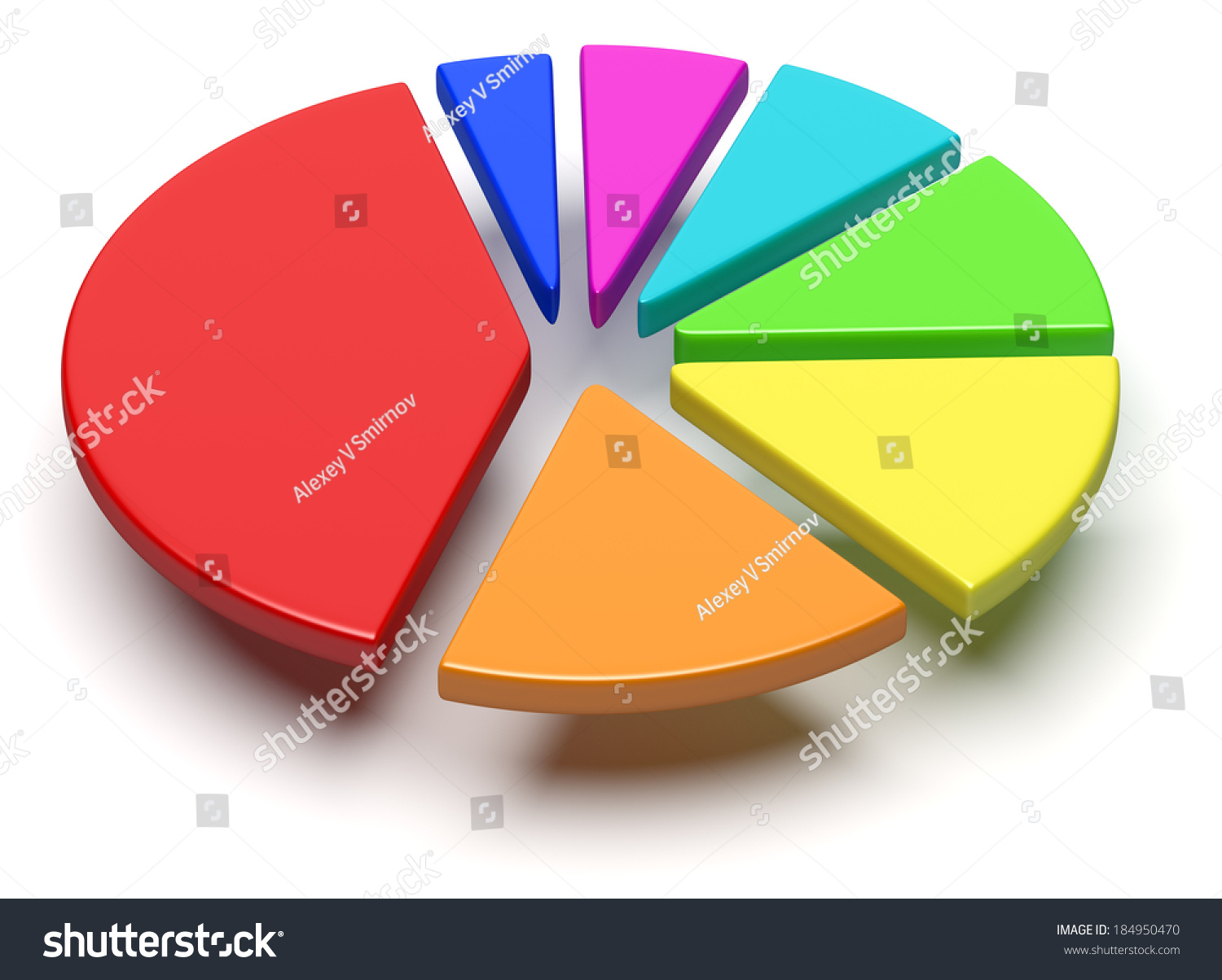 Abstract business statistics financial analysis growth stock abstract business statistics financial analysis growth and development concept colorful 3d pie chart nvjuhfo Choice Image