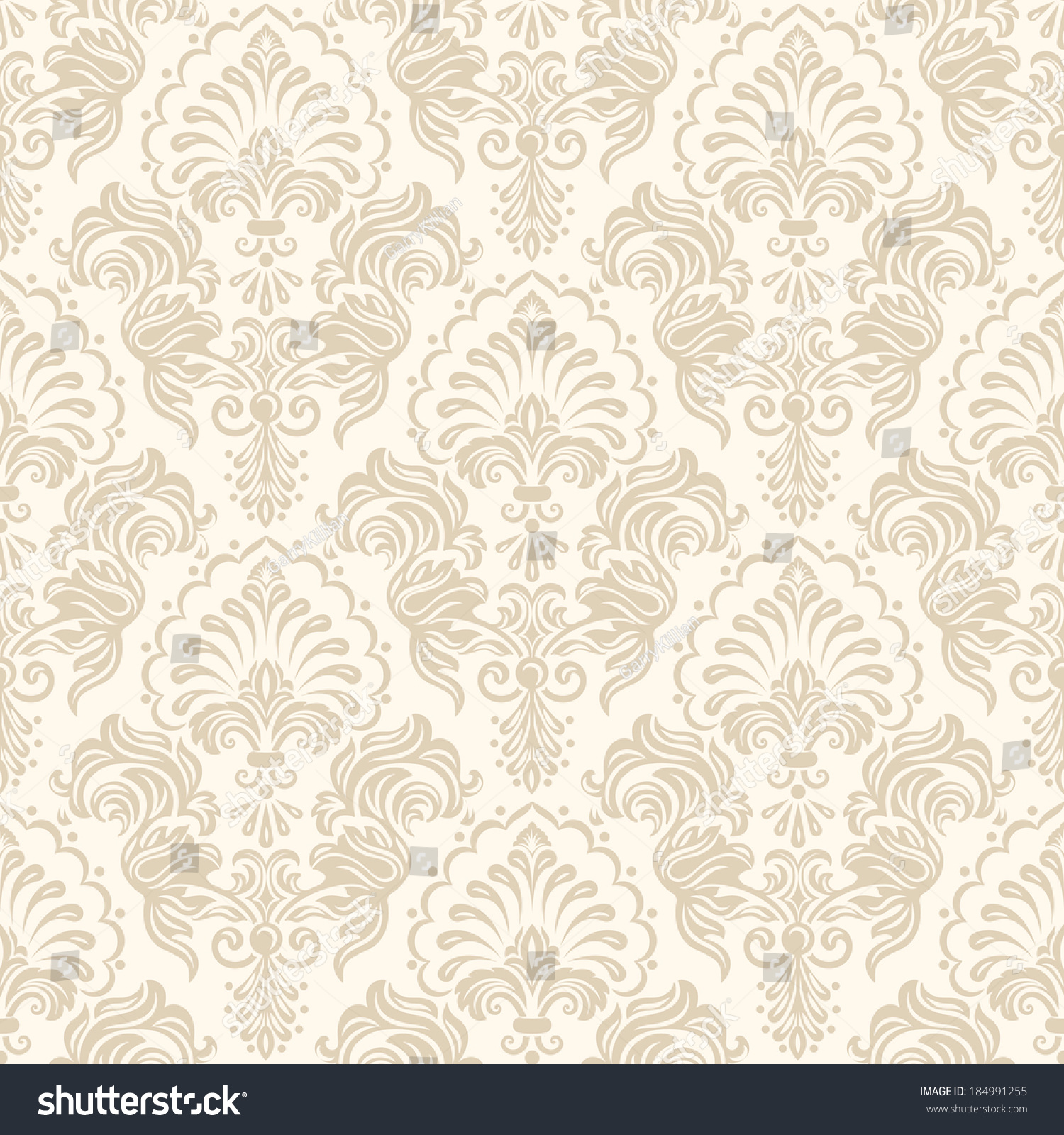 Vector damask seamless pattern background Elegant luxury texture for  wallpapers backgrounds and page fill  Vector. Seamless Victorian Wallpaper Texture
