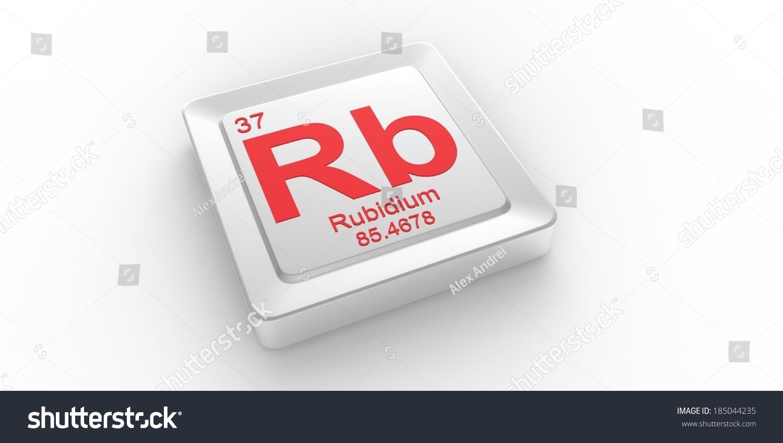 Rb symbol 37 material rubidium chemical stock illustration 185044235 rb symbol 37 material for rubidium chemical element of the periodic table buycottarizona Choice Image