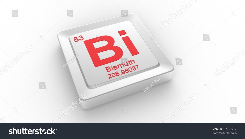 Bi symbol 83 material bismuth chemical stock illustration bi symbol 83 material for bismuth chemical element of the periodic table buycottarizona
