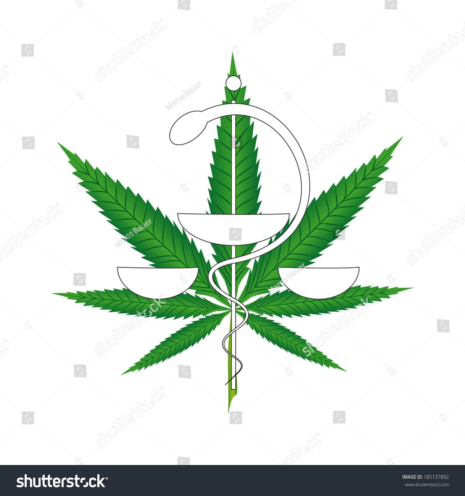 Snake in medical symbol image collections symbol and sign ideas illustration marijuana leaf foreground medical symbol stock vector illustration of marijuana leaf in the foreground with biocorpaavc Images